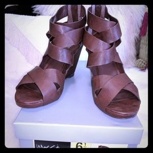 Sexy brown sandals